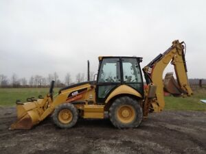 2006 Caterpillar 420e Loader backhoe 4wd Extrenda hoe Pilot Ctls 2 097 Hours