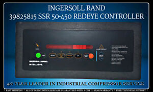 39825815 Ingersoll Rand Ssr 50 450 Red Eye Controller With One 1 Year Warranty