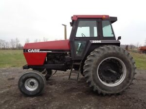 1989 Case Ih 2096 Tractor Cab heat air Powershift Cummins Diesel 4 552 Hours