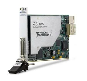 New National Instruments Pxie 6345 Ni Daq Card X series Multifunction