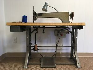 Cornely A2 Chain Stitch Long Arm Embroidery Machine Complete With Table
