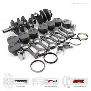 Fit Chevy Sbc 350 3 750 383 Ci 1pc seal Rotating Assembly Kit Street Series