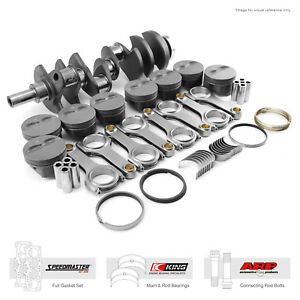 Fit Chevy Sbc 350 3 750 383 Ci 1pc Seal Rotating Assembly Kit Superstreet