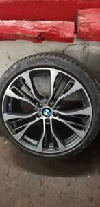 21 factory Oem Bmw Wheels And Tires Style 599m X5 X6 E70 E71 F15 F16 X6m X5m