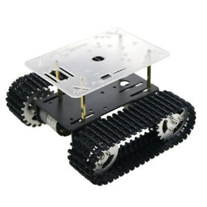 Perfeclan T101 Tracked Robot Smart Car Chassis For Arduino Raspberry Pi Diy