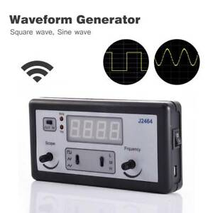 Wg100 Waveform High Frequency Signal Generator Frequency Meter 4 Digital Tubes