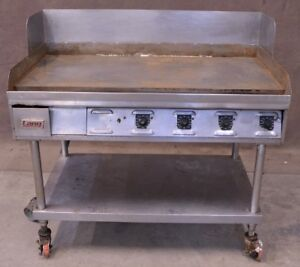 48 Lang Flat Top Griddle Grill Counter Top Electric On Wheels