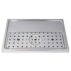 Micromatic Dp 1605 23 5 8 Stainless Steel Glass Rinser Drip Tray