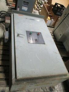 Russelectric Automatic Transfer Switch Rmt 6003ce 600a 120 240v 3ph 4w 60hz Used