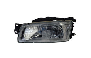 Replacement Depo 314 1104l As Driver Side Headlight For 93 01 Mitsubishi Mirage
