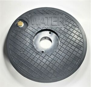 Nicor Type A Water Meter Box Cover With Recessed Hole For Sensus Radio Or Touch