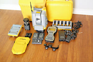 Trimble S6 Dr Plus 2 4ghz 3 Robotic Survey Total Station W Tsc3 Mt1000 S7 S8