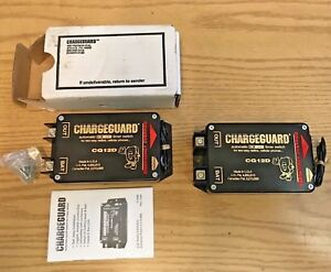 2pc Lot Cg12d Chargeguard Timer Switch Automatic On off For 2 way Radios