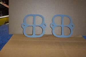 Offy Offenhauser Turbo Thrust Middle Gaskets Sbc Sbf Olds Tunnel Ram