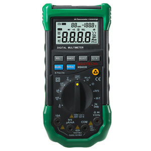 Ms8228 Digital Multimeter With Ir Thermometer Relative Humidity Tester