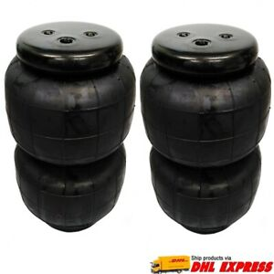 2 Universal Air Bags 2600lbs Spring ride Suspension Heavy Duty Pickup Lower Car