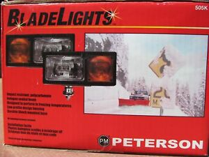 Peterson 505k Bladelights Complete Snow Plow Light Kit W Wiring Harness