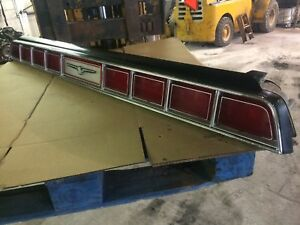 1973 1975 Ford Thunderbird Tail Light Panel Assembly 73 74 75