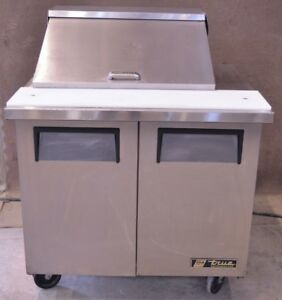 36 True Tssu 36 12m b Sandwich Unit Refrigerated Prep Table Refrigerator Cooler