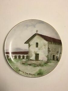 Antique Painting On Porcelain Plate By Russian Alexis Matthew Podchernikoff