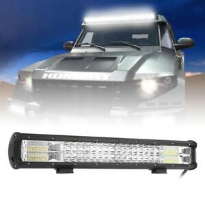 20inch 540w Cree Led Light Bar Flood Spot Combo Driving Offroad Truck Lamp