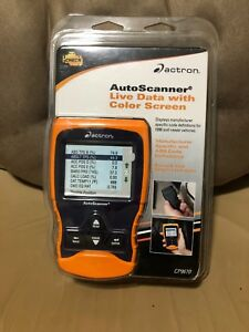 Actron Cp9670 Abs Domestic Asian Scantool With Color Screen Brand New