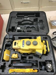 Topcon Gpt 8203a Robotic Total Station W Accessories