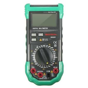 Mastech Ms8261 Digital Dmm Multimeter W Ac dc Voltage Capacitance Measurement
