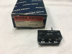 1 Honeywell Micro Switch Dt 2rs1 a7 Limit Switch