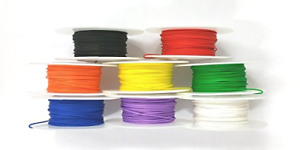 26 Gauge Solid Kynar Insulated Electronic Hobby Or Crafts Wire 8 Color On 100