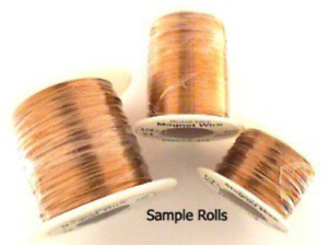 22awg Solid Insulated Magnet Wire 1 Pound Roll