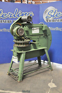 15 Ton Used Wiedemann power Turret Punch Press R 41p A3792