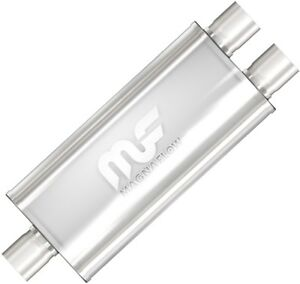 12198 Magnaflow Performance Exhaust Muffler Stainless Single 3 In Dual 2 5 Out