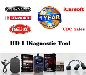 Icarsoft Hd I Heavy Duty Diesel Gas Commercial Truck Obd2 Diagnostic Scanner