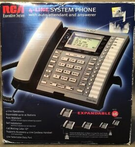 Rca 4 line System Phone 25415re3 Excellent Condition