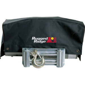 Rugged Ridge 15102 02 8500 And 10500 Winches Winch Cover