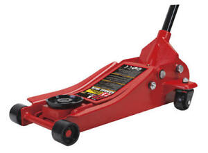 3 Ton Strong Steel Portable Low Profile Floor Jack Lift Garage Mechanic Tool