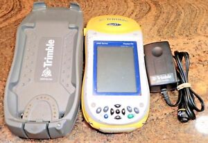 Trimble Geo Xt 2005 Series Pocket Pc With Arcpad Charger Windows Mobile