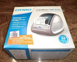 New Dymo Labelwriter 400 Turbo Pc mac connected Label Printer Dym69110 New