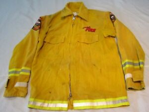 Firefighter Wildland brush Fire Shirt jacket Size Medium