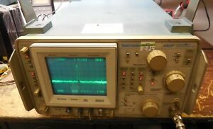 Tektronix 492p Tek 492 Spectrum Analyzer Opt 1 2 3 Gpib works