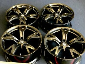 19 Nissan 370z 370 Forged Rims Wheels Factory Oem 19