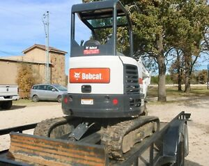 2018 Slightly Used Bobcat Mini Excavator Series E26 7 Months Old