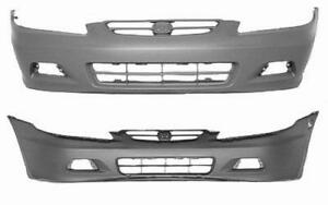 Cpp Front Bumper Cover For 2001 2002 Honda Accord Ho1000195
