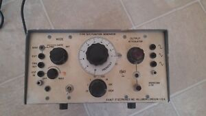 Exact Electronics Type 303 Function Generator Antique Steampunk Lab Source Wave