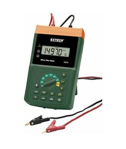 Micro Ohm Meter With Nist Extech Um200 nist