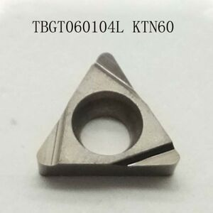 Tbgt060104l Ktn60 Threading Carbide Inserts Cutting Tool For Lathe Cnc 10p