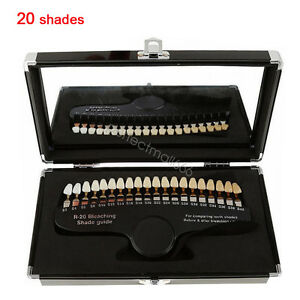 Brand New Teeth Whitening Dental Shade Guide Tooth Bleaching For Bleaching Use