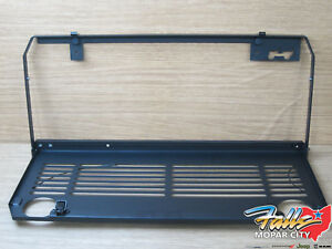 18 20 Jeep Wrangler Jl Tailgate Mounted Folding Table And Cup Holder Mopar Oem
