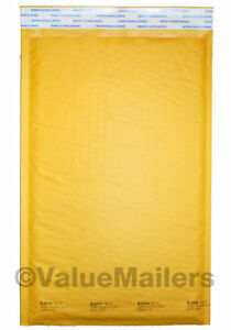 3 Bubble Lite 8 5x14 5 Kraft Bubble Mailers Padded Envelopes Bags 100 To 2000